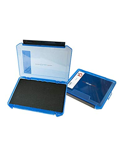 Gamakatsu G3600SF G-Box, Slit Foam Utility Case, 3200, Blue