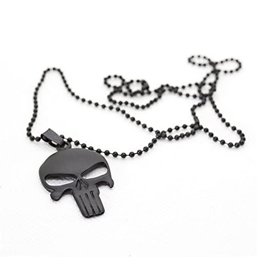 nachtkind Collar Punisher negro unisex cierre de pinza