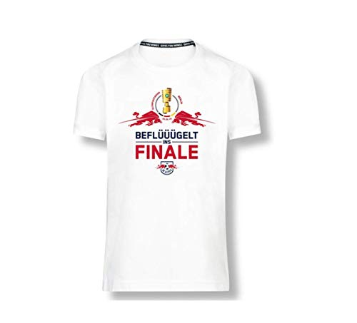 RB Leipzig Cup Final T-Shirt, Weiß Herren Medium T-Shirt, RasenBallsport Leipzig Sponsored by Red Bull Original Bekleidung & Merchandise