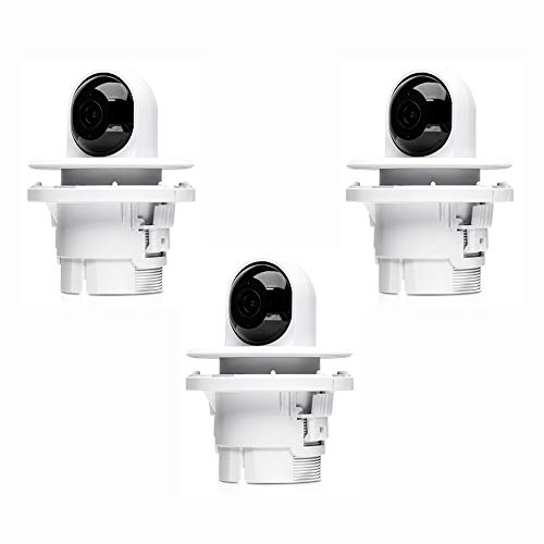 UniFi Video Camera G3 Flex 3 Units UVC-G3-Flex Full HD 1080p Network Camera Night Vision with 3 Units UVC-G3-F-C Ceiling Mount