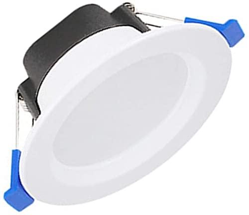 Lámpara empotrada de Techo LED Regulable de 5 W, 3...