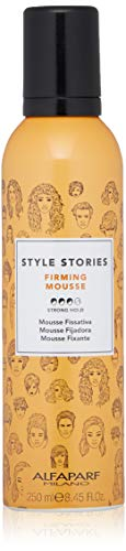AlfaParf Style Stories Mousse Firming 250 ml, Standard, Unico, 250 (PF017560)