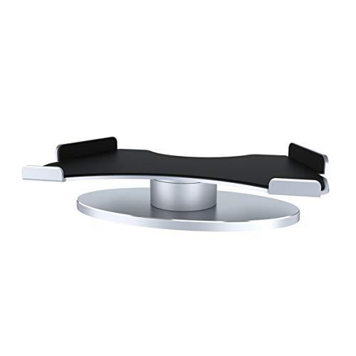 Delicacydex Durable 360 Grad-Drehung Aluminiumlegierung Halterung Leichte Halter Base Geeignet für Amazon Echo Zeigen Zubehör