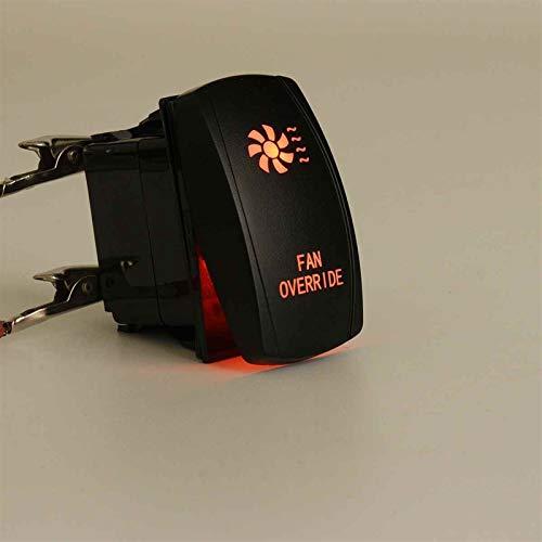 Para Polaris Ranger 900 800 RZR 5 pines Automáticos de Auto Augure Interruptores Láser Retroalimentado Rocker Toggle Switch 20A 12V ON/OFF LED Luz LED para Polaris Ranger 900 800 RZR