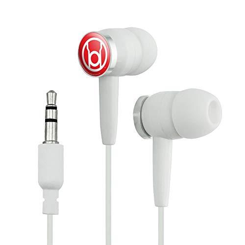 GRAPHICS & MORE Green Lantern Blackest Night Red Lantern Logo Novelty in-Ear Earbud Headphones