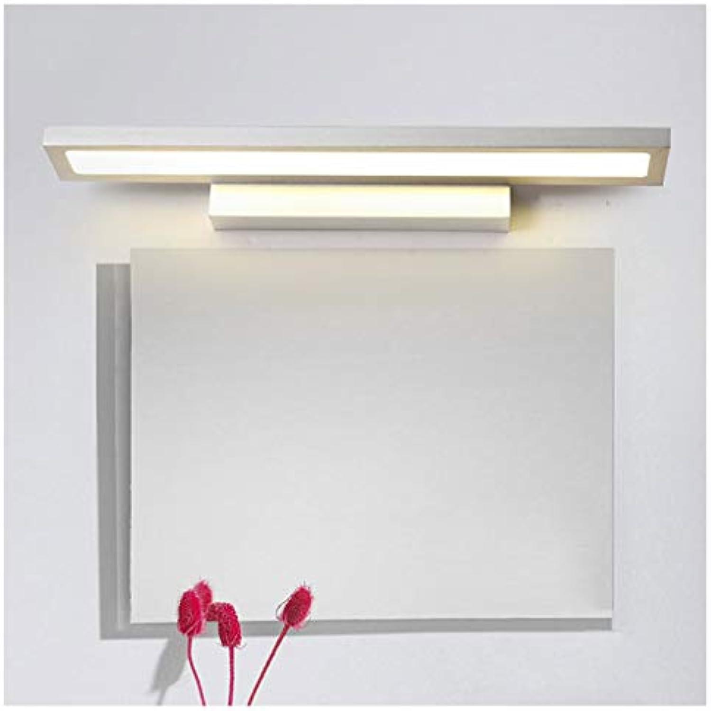 FJH LED Badezimmer Spiegel Frontleuchte Kommode Spiegelschrank Licht Wasserdicht Nebel Grau (Farbe   Weies Licht-40cm 8W)