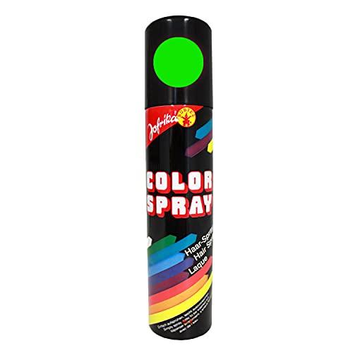 NET TOYS Spray à Paillettes Vert - glitterspray - Laque à Cheveux - colorspray Vert - Coloration pour Cheveux - Sprays pour Cheveux - colorsprays - colorations pour Cheveux