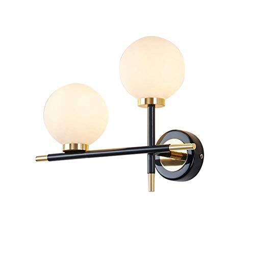 Vista Plafondlamp, glas, spot voor camera, wandlamp, Vista Flair, staal, carbon, perfecte Modo Giusto Sides, kleur glazen lamp + metaal plafondlamp incl.