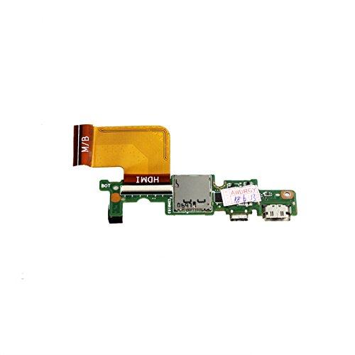 Zahara Tablet HDMI Puerto de carga PCB Junta de reemplazo para Dell Venue 11 Pro Mini HDMI/micro USB board con cable T07G001 7130 7139 0800-0ET4W00