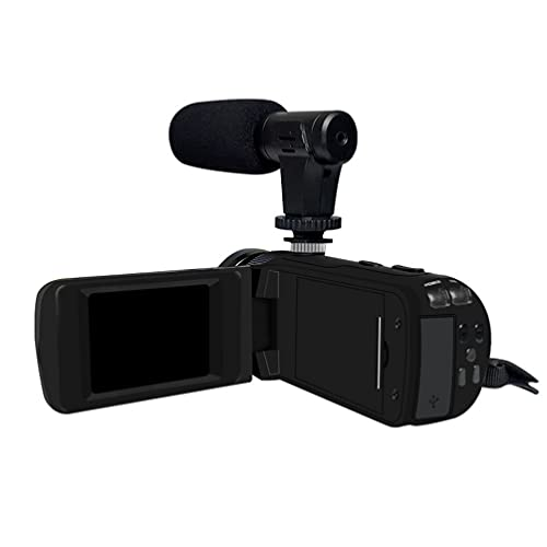 iplusmile Video Kamera Camcorder 1600 1080P Digital Kamera Recorder Vlogging Kamera mit Mikrofon für Fotografieren Travel Vacation