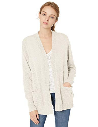 Roxy Junior's Valley Shades Cardigan, Snow White, S