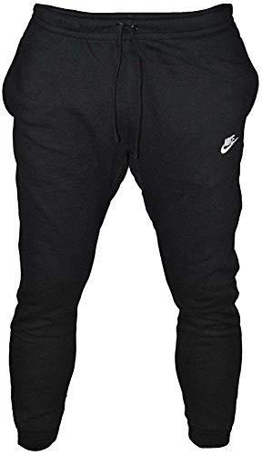 Nike Herren Jogger Club Jogginghose, schwarz (Black/White 010), Gr. S