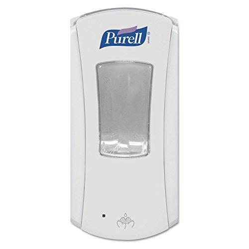 Purell LTX-12 Touch-Free Dispenser, Holds 1200mL Refills, White (GOJ192004)