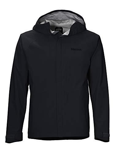 Marmot EVODry Bross Jacket Giacca Impermeabile, Gaccia A Vento, Pioggia, Hardshell, Antivento, Impermeabile, Traspirante, Uomo, Black, S