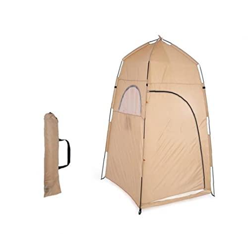 Ducha Privacidad Inodoro Tienda de campaña Cambio de tienda portátil Camping Aseo Ducha Tienda Outdoor Sun Shelter para Playa Sol Sombrilla Al Aire Libre