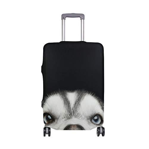 Maleta con Equipaje de Viaje para viajeros con Perros Husky Siberiano con Ruedas giratorias Maleta...