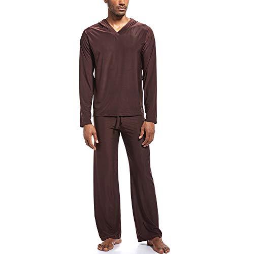 Pantalons de Yoga Homme Pantalon de Sport Coton Pyjama Super Soft Sarouel pour Sport Fitness Jogging sous-vêtement Thermique pour Longs pour Homme Ensembles Épais Épais Ensembles pour Homewear