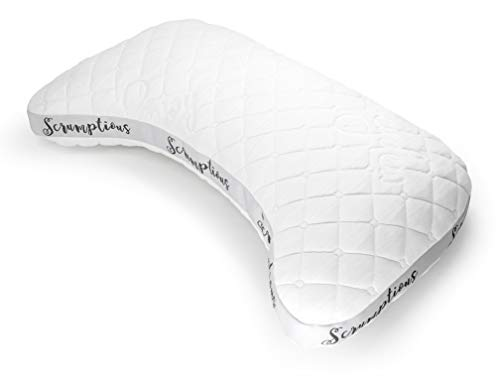 Drift The Scrumptious Side Sleeper Pillow - Handmade in California, The Ultimate Luxury Pillow for Side Sleepers (Queen)
