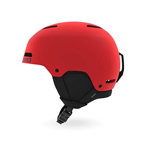 Giro Ledge Casque de ski Rouge mat Taille M (55.5–59cm) (2021)