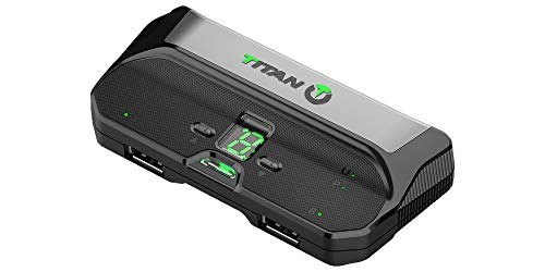 Titan Two Device NEW Model [Programmable Scripts, Macros, Mods, Remapping, Keyboard, Mouse] Advanced Crossover Gaming Adapter and Converter for PlayStation 4 PS3 Xbox One 360 Nintendo Switch and more
