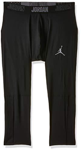 NIKE M J 23 Alpha Dry 3/4 Tight Pantalones de Deporte, Hombre, Black/Dark Grey, XS