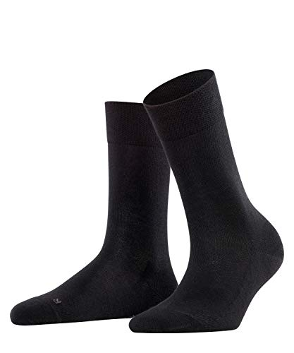 FALKE Damen Sensitive London W SO Socken, Schwarz (Black 3009), 39-42