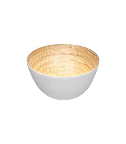 Secret de Gourmet - Saladier bambou blanc D17