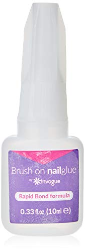 Invogue Invogue Brush On Nail Glue 10 Ml