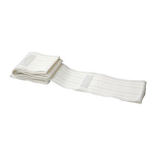 IKEA KRONILL Gathering Heading cinta para hacer plisado cortinas, 3pulgadas, color blanco
