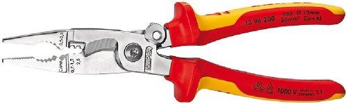Knipex 13 96 200 SB - Alicate Para Instalaciones Eléctricas