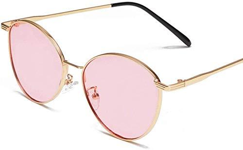 Superlight Unisex zonnebril, gepolariseerd, voor dames en heren, retro-merk, kleur: roze, maat: casual grootte)