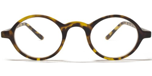 Icon Eyewear Unisex RCE337_+2.00 Brillengestell, Brown/Tortoiseshell, OneSize