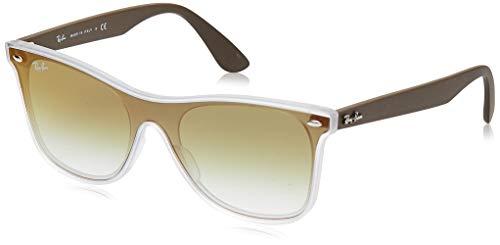 Ray-Ban 0rb4440n 6358w0 41 Gafas de sol, Matte Transparente, 45 Unisex