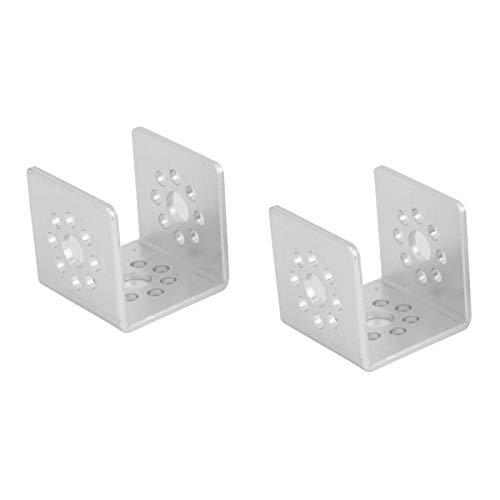 Viga cuadrada de educación de un solo orificio, 2 piezas, placa de orificio, canal en U para robot de bricolaje para TETRIX PRIME