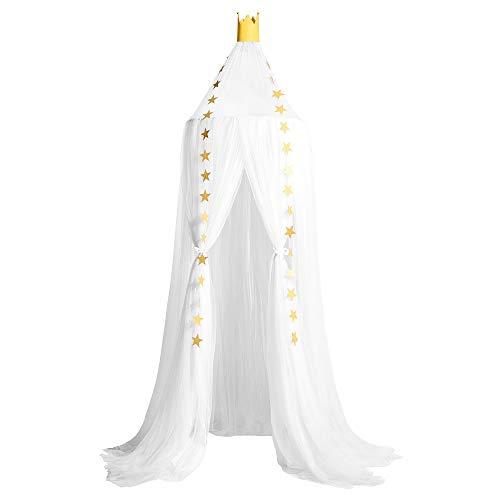 Grefen - Mosquitero para niños, diseño de princesas para interiores y exteriores, protección de red, decoración de habitación