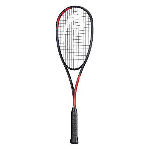 Head Graphene 360+ - Raqueta de squash, serie 2020, encordada, negro, rojo