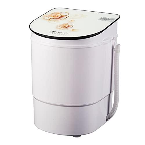 HOUSEHOLD Mini Lavadora y Secadora Portátil, Diseño Compacto 2 en 1, Lavadora Semiautomática de 11 Libras de Capacidad para Ropa Pequeña como Calcetines, Ropa Interior, Etc.