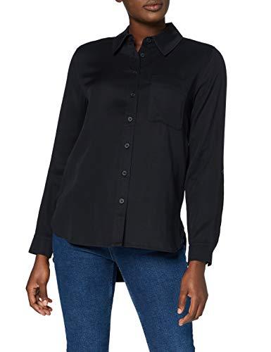 MERAKI RS-0466 Chemises, Noir, 40