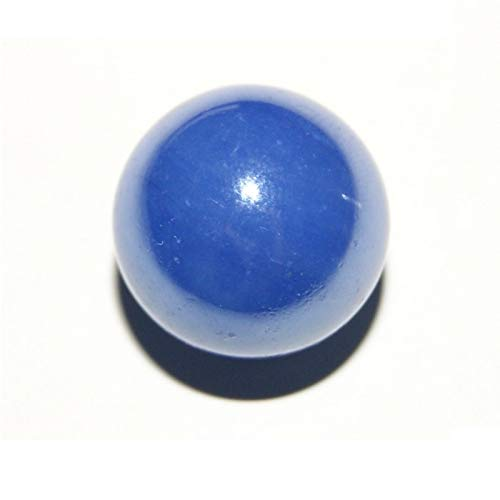 Les Colis Noirs LCN - Bille Perlé Bleu Foncé 16mm 500g - Environ 100 Billes - Décoration Table Jeu - 44214