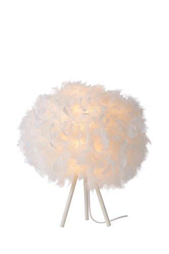 Lucide GOOSY SOFT - Lampe De Table - Ø 50 cm - Blanc