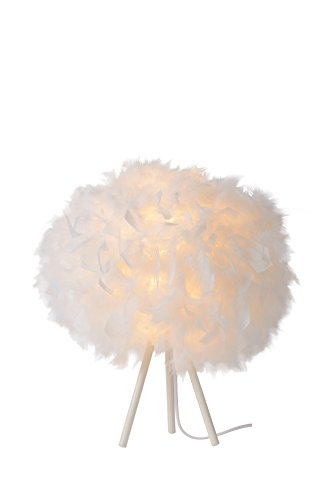 Lucide GOOSY SOFT - Lampe De Table - Ø 50 cm - Blanc