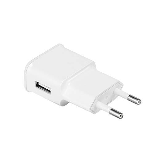 MXECO 5V 2A Carga rápida Cargador USB universal único 7100 Adaptador de cargador de viaje Enchufe UE portátil para Samsung