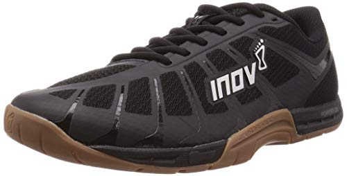 Inov-8 Men's F-Lite 235 v3 – Cross Trainer, Fitness & Weight Lifting Shoe – Men's HIIT Shoes - Black/Gum - 8
