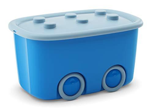 Kis Funny Box L - 58X38,5X32H Azzurro