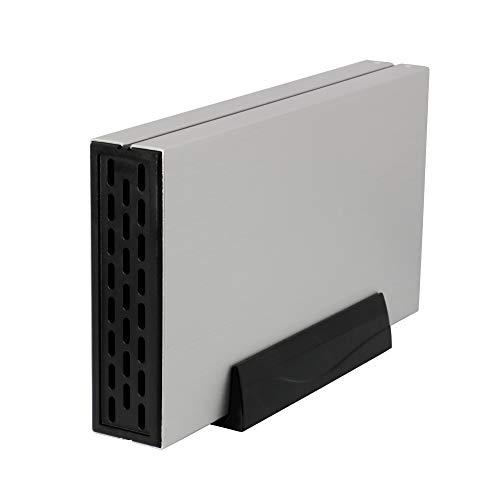 オウルテック3.5インチHDD外付けケースUSB3.0ファンレススタンド付シルバーOWL-ESL35U3S2-SI