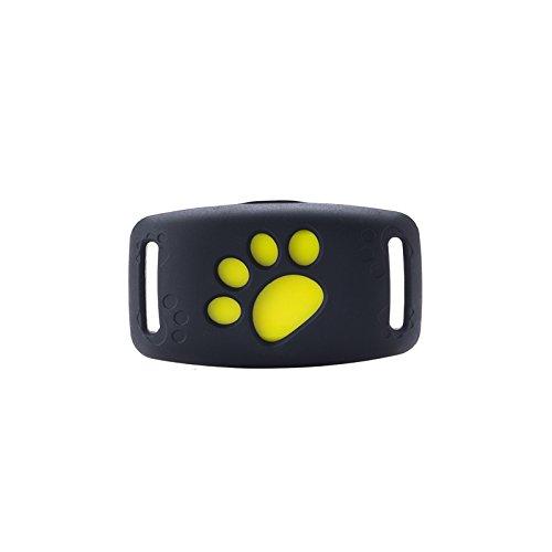 YHH Mini GPS Huisdier Tracker Waterdichte Smart Anti-Verloren Tracking Apparaat Honden Katten Finder Locator Alarm Beveiliging Omheining Compatibel Voor IOS Of Android Systeem