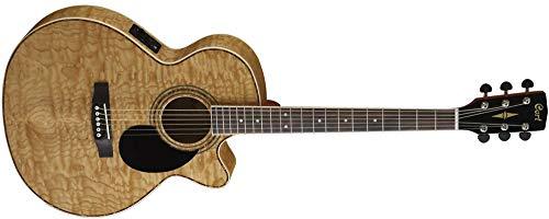 Guitarra acustica electrificada de aros estrechos de 83mm