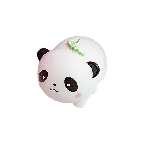 WopenJucy Decoración Adornos Accesorios Forma de Panda Plastico Hucha Estar Decoraciones para el Hogar Adornos Decoración Creativa Artesanía Blanco y Negro 1 Pcs