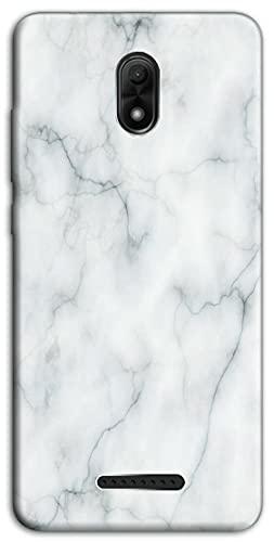 Mixroom - Cover Custodia Back Case in TPU Silicone Morbido per WIKO Jerry 3 Fantasia Fantasia Marmo Liscio M530