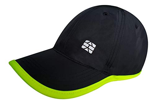 teknik Quick-Dry Dry Fit Ultralight Water Resistant Sports Cap Unisex (Fluro Green)